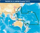 Navionics Updates (Navionics Gold) 34XGU XL9 Pacific Islands - Compact Flash format