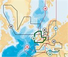 Navionics+ (Navionics Gold) 28XG XL9 UK, Ireland and Holland - Micro SD format