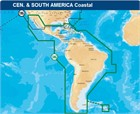 Navionics Updates (Navionics Gold) Gold chart 3XG XL9 Central & South America - Micro SD format
