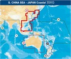 Navionics Updates (Navionics Gold) 35XGU XL9 South China Sea - Japan - Compact Flash format
