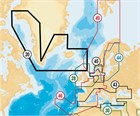 Navionics+ (Navionics Gold) 20XG XL9 Greenland and Iceland - Compact Flash format